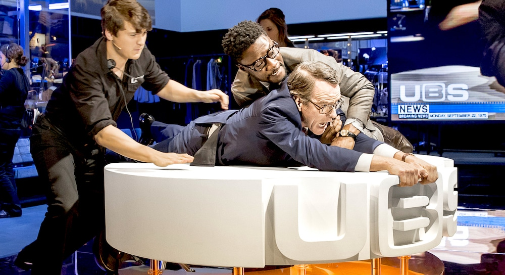 Network London National Theatre Bryan Cranston