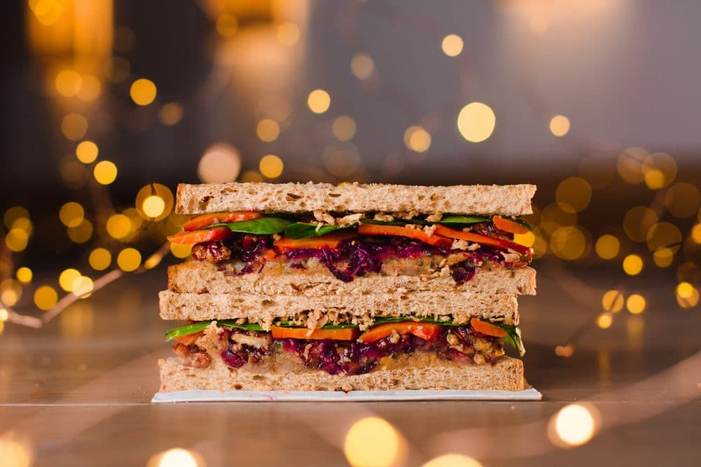 Pret Verry Merry Christmas Lunch Sandwich, £3.50 (Donates 50p to the PFT)