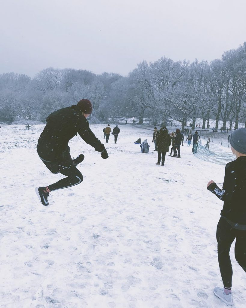 Hampstead Heath. Photo: @alexholley