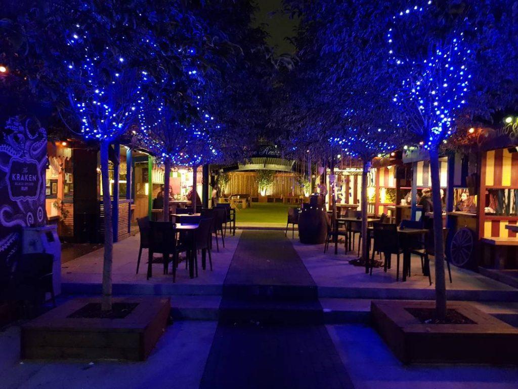 Aeronaut Pub Garden
