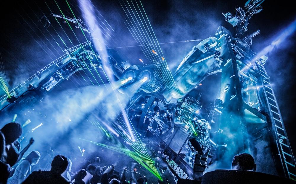 Arcadia Festival Spider