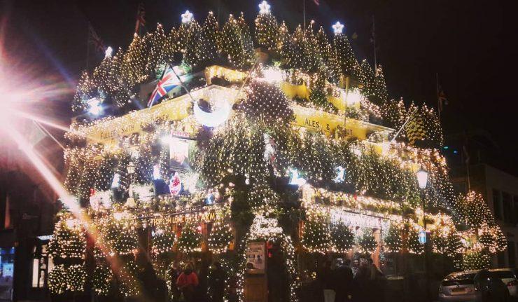 Christmas Pub London