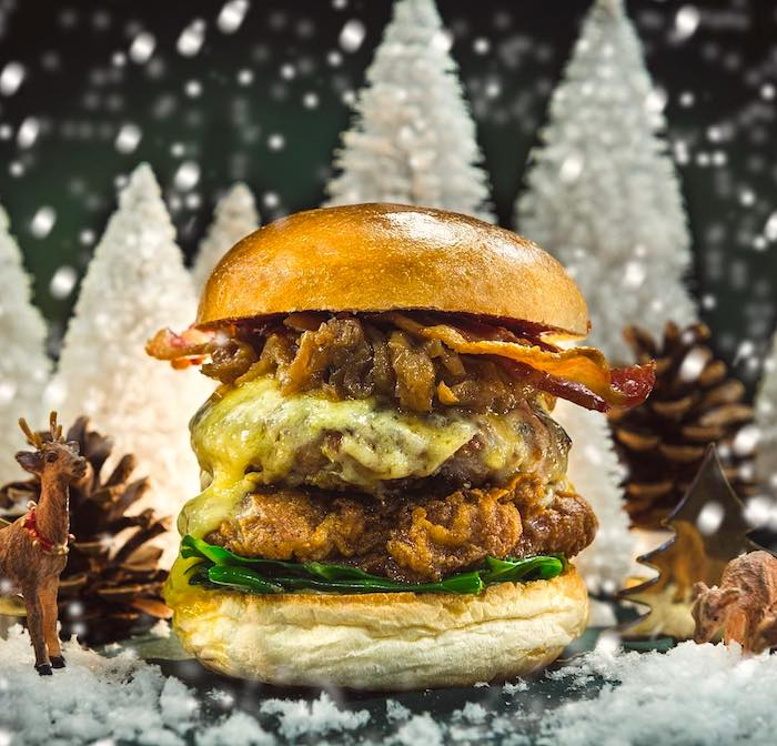 Christmas burger recipe - Hawksmoor