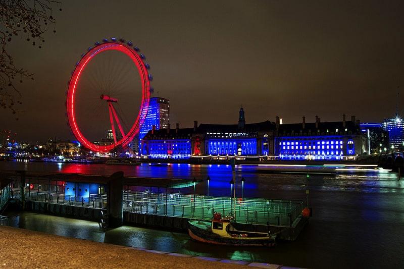 London Eye Lumiere