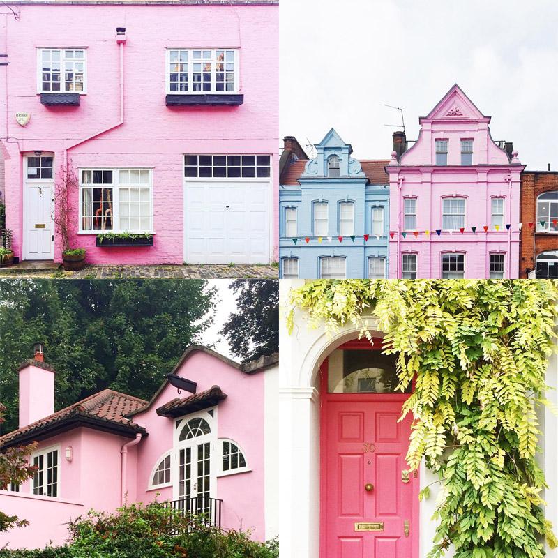London Is Pink Instagram
