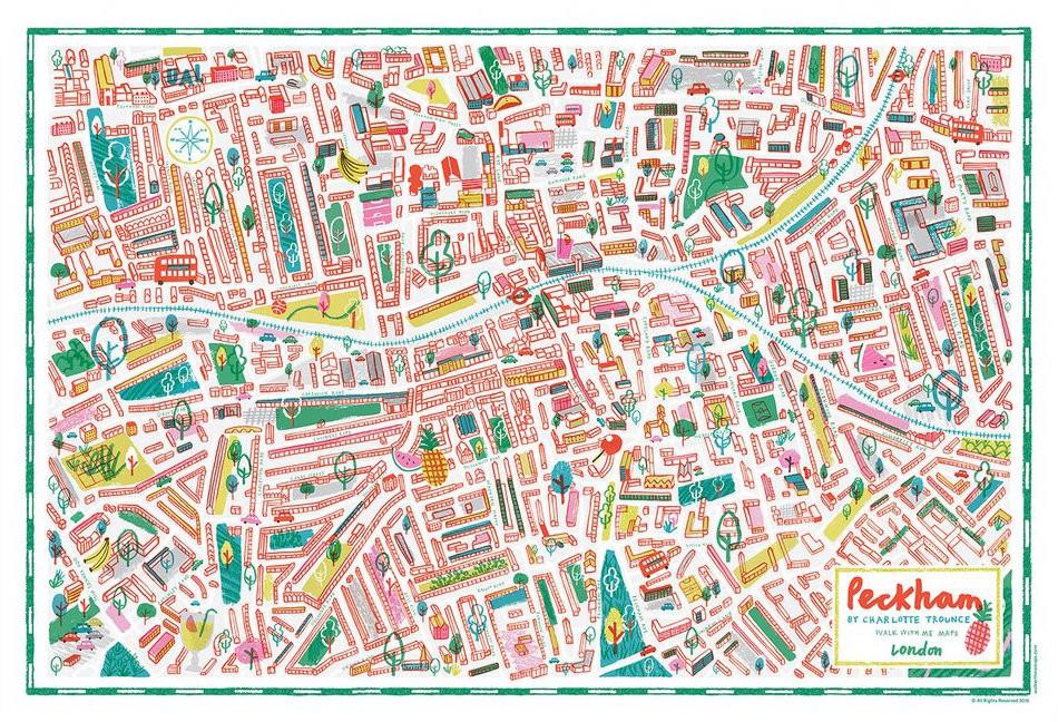Peckham Illustrated Map