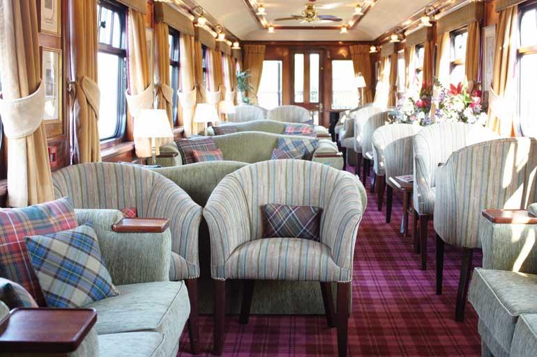 Royal Scotsman Lounge