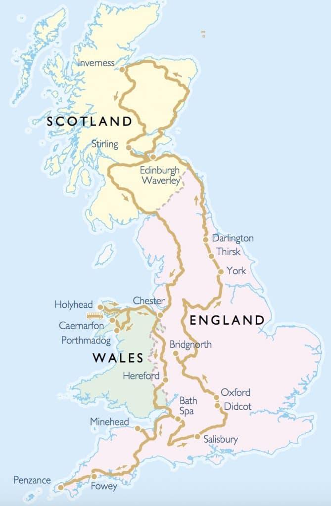 UK Rail Tour