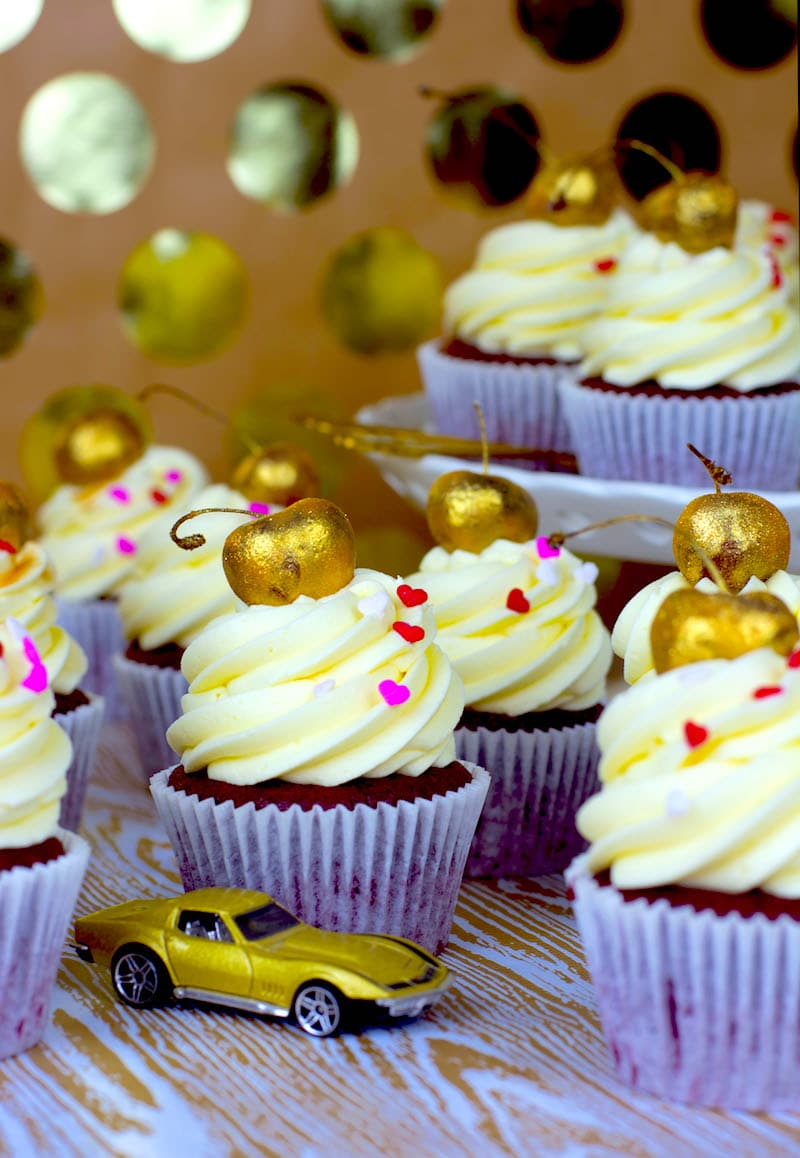 Little Red Velvette Cupcakes