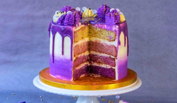 Purple Rain Cake Prince Cookbook