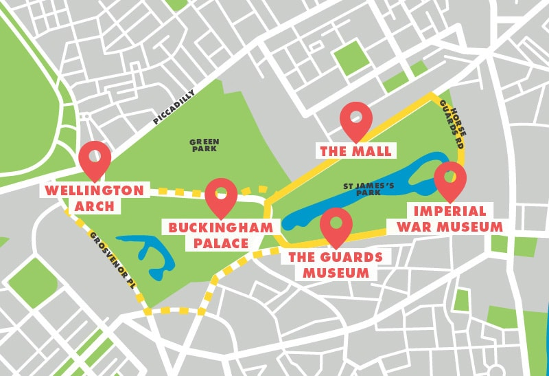 London running routes