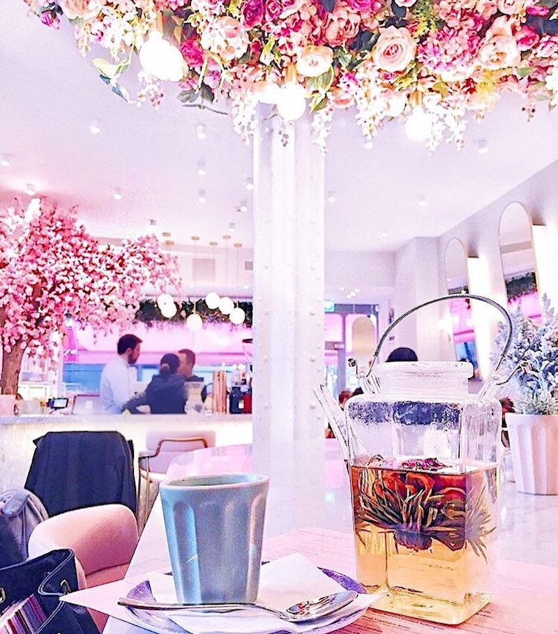 Elan Café The Most Perfectly Pink Places For Coffee In London