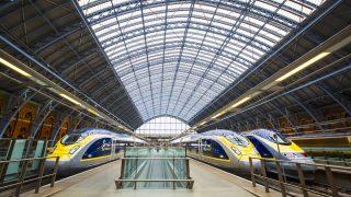 Eurostar in St Pancras
