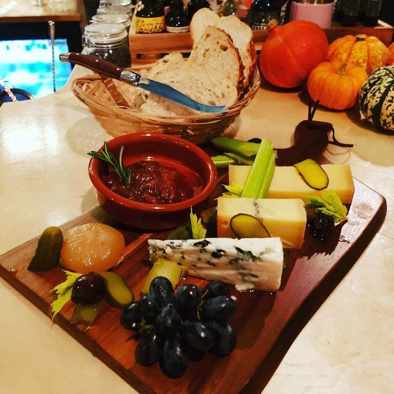 Gin and Cheese Board