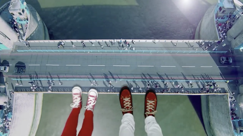 This Glass Floor Is The Most Knee-Wobbling Walk In London