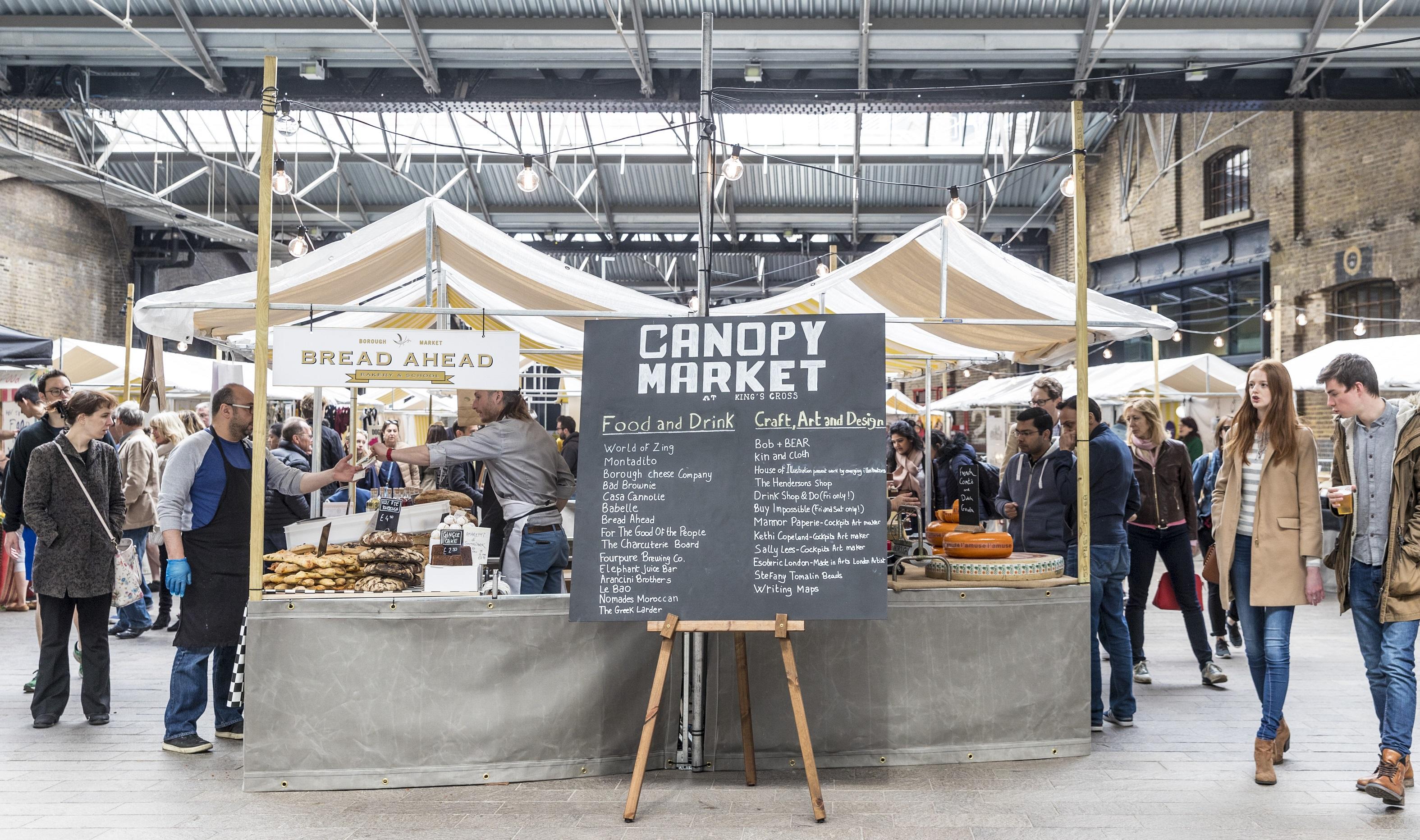 Canopy Market, King's Cross