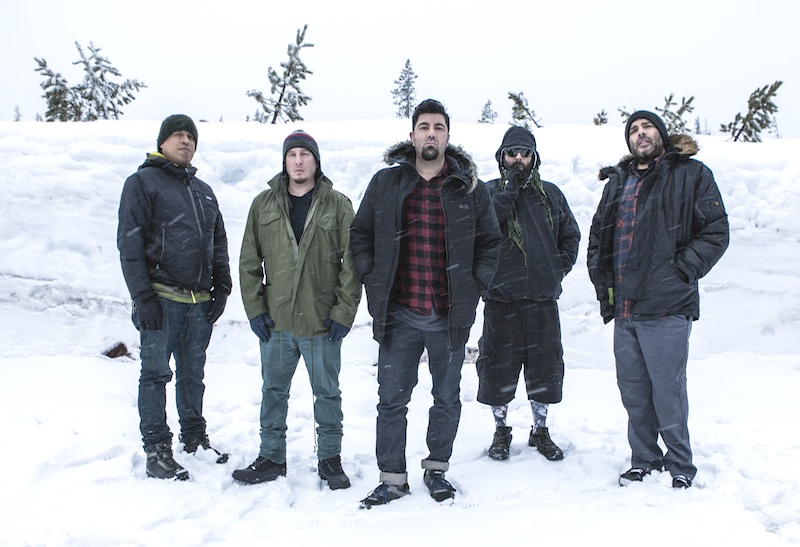 Deftones Metal Band Meltdown