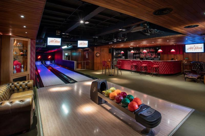 London bowling alleys - All Star Lanes Holborn