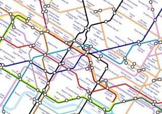 Tube Map 2040 London