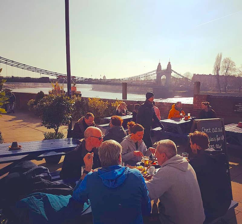 44 Riverside Pubs On The Thames In London We Totally Love