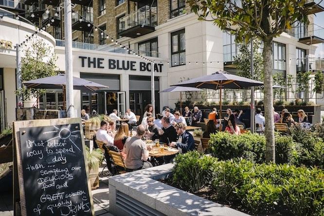 Blue Boat Pub