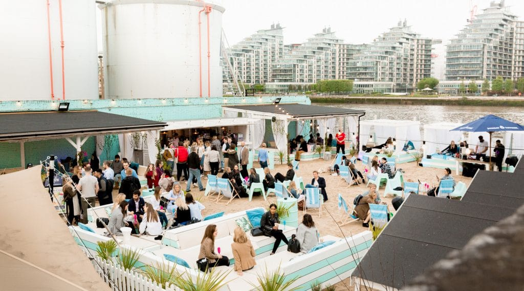 Fulham Beach Club: The Summer Beach Pop-Up You Need To Visit