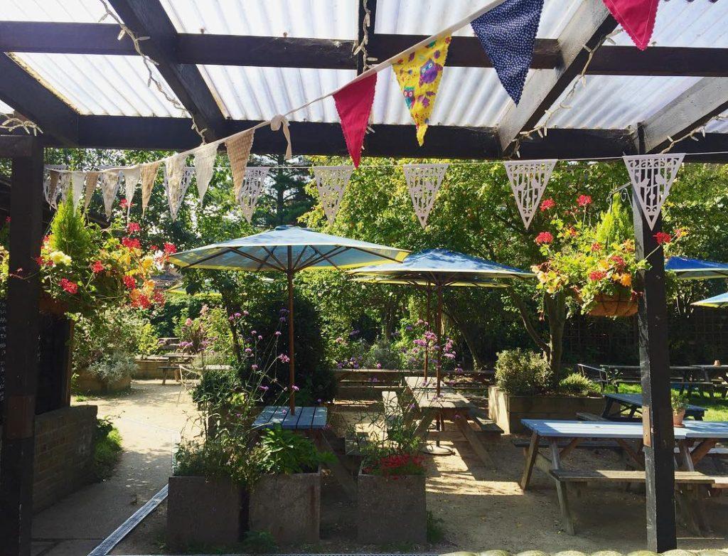 Beer garden London summer
