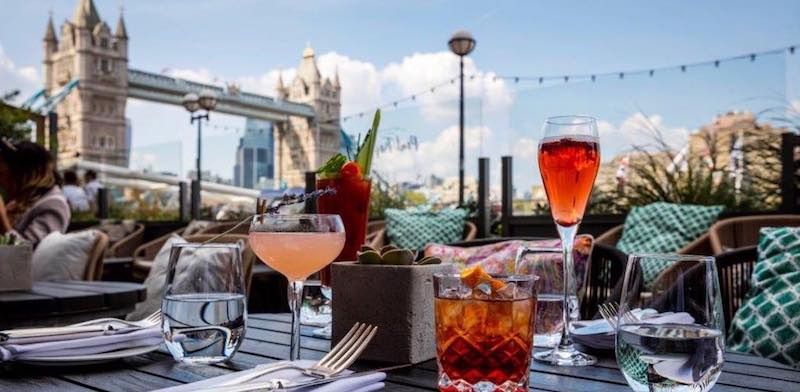 London Riverside restaurants Cantina del Ponte
