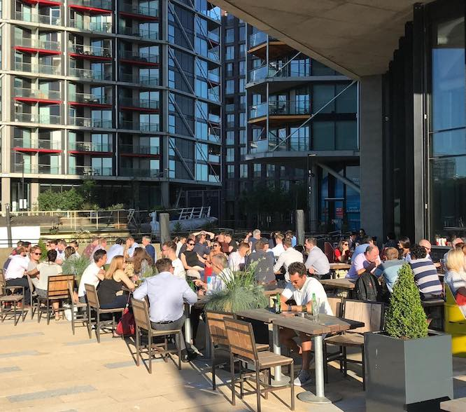 Riverside pub guide - Nine Elms Tavern