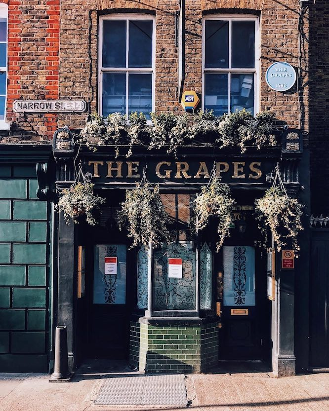 Riverside pubs London The Grapes