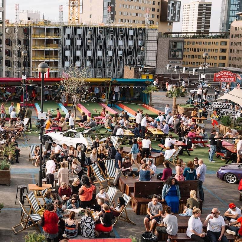 Rooftop Bars London Stratford