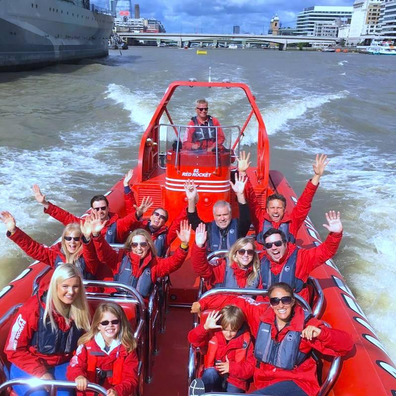 Speedboats London Thames Rockets