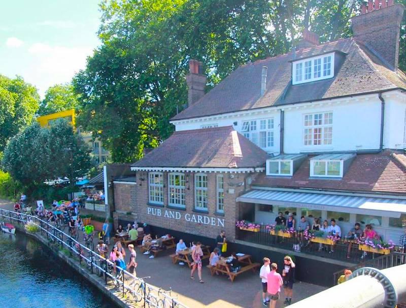 Waterside pub Clapton London