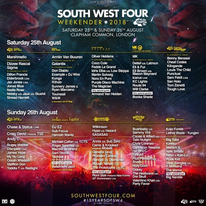 sw4 Line-up