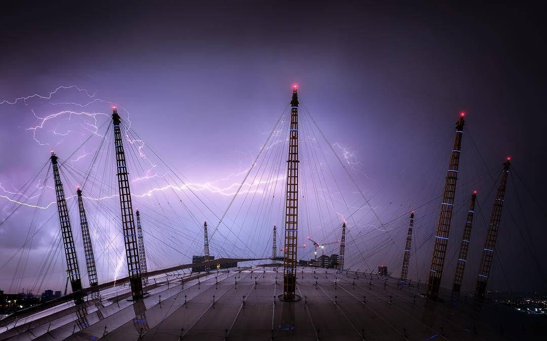 London lightning photos