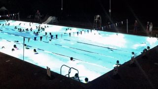 Moonlight Swim Hampton Pool