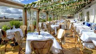 Selfridges rooftop restaurant