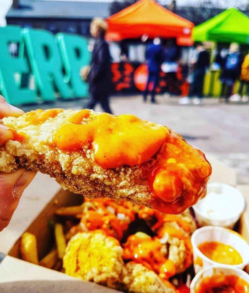 Street food KERB Kings Cross