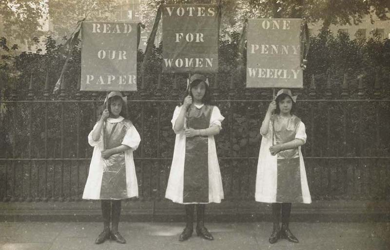 Votes for Women exhibition