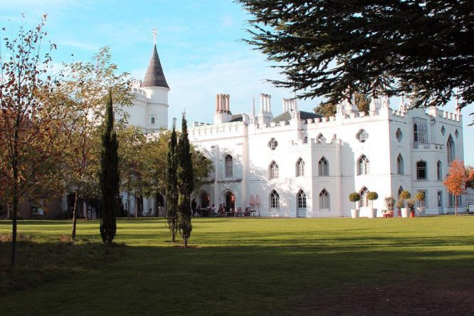 @strawberry hill house