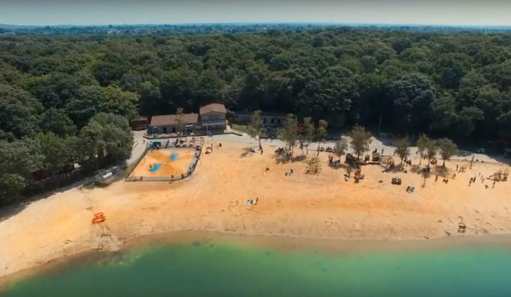 London Beach Ruislip Lido