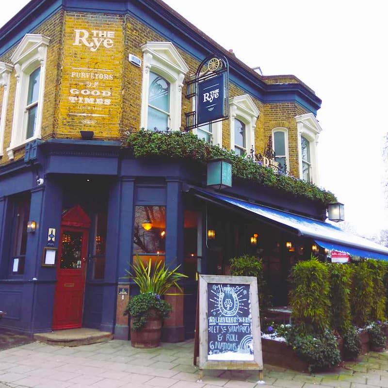 Peckham Pub The Rye