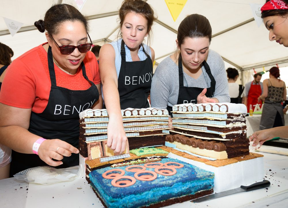 YES WATG's Great Architectural Bake Off 2018 - Barbican by Benoy -1 © WATG