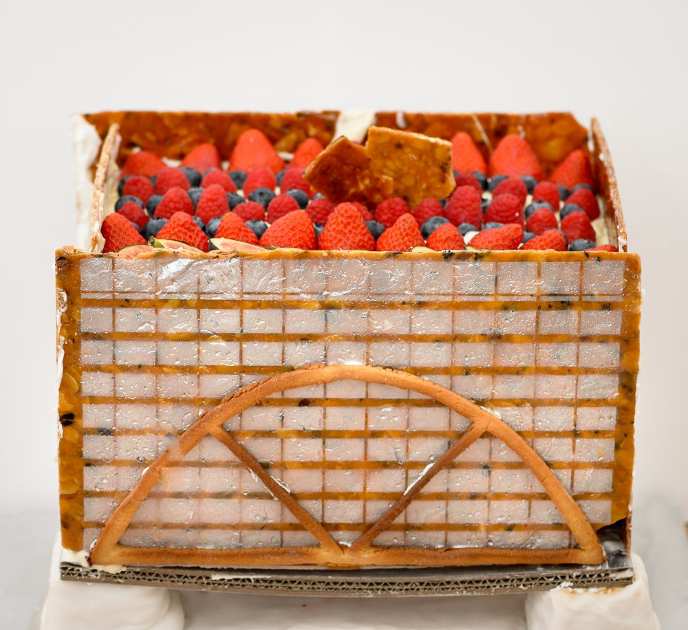 YES WATG's Great Architectural Bake Off 2018 - London's Exchange House by SOM © WATG