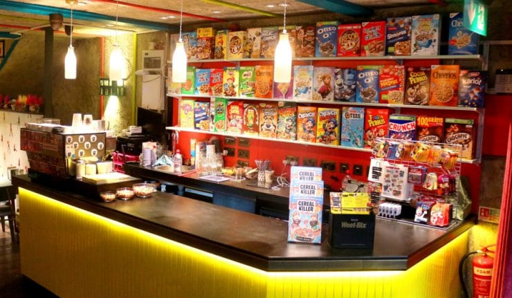 The Ground Up Cafe London Menu
