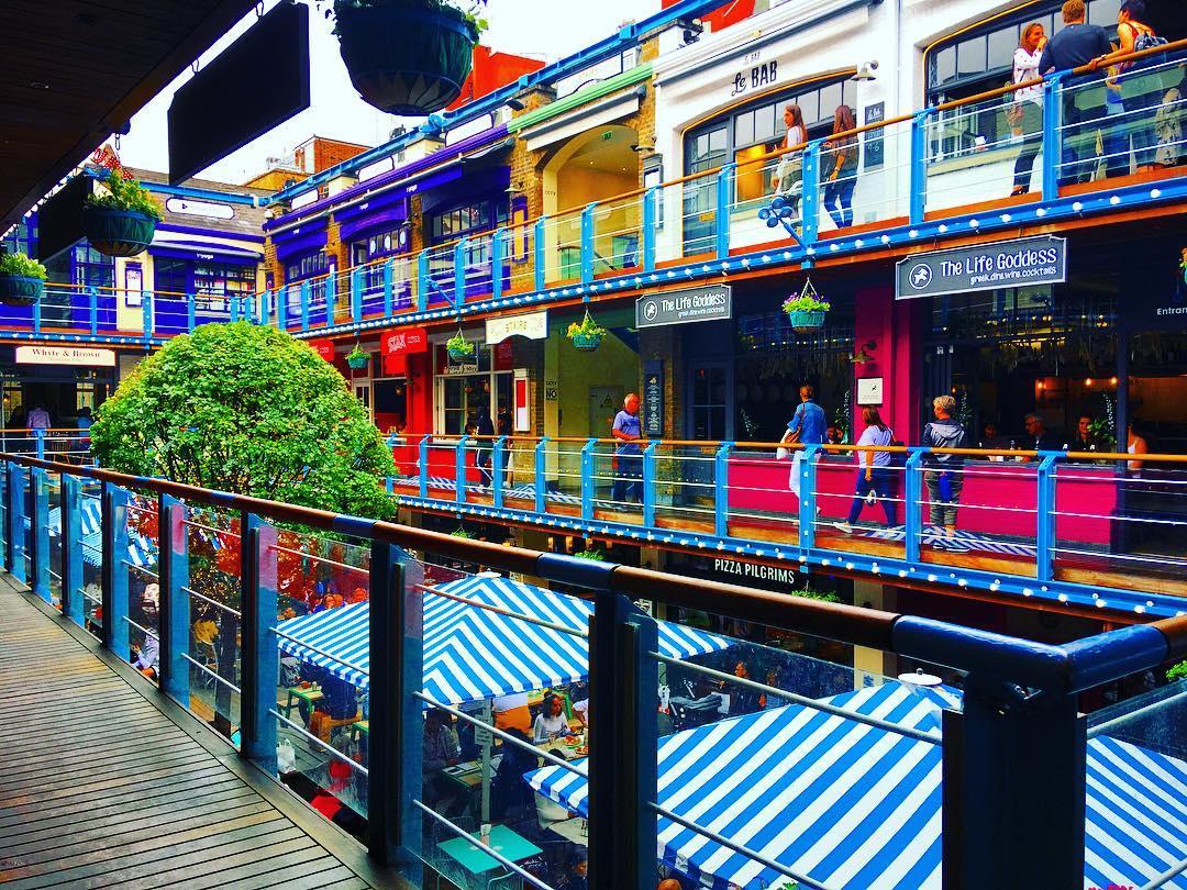 Kingly Court Restaurants Inside Sohos Fab Foodie Courtyard