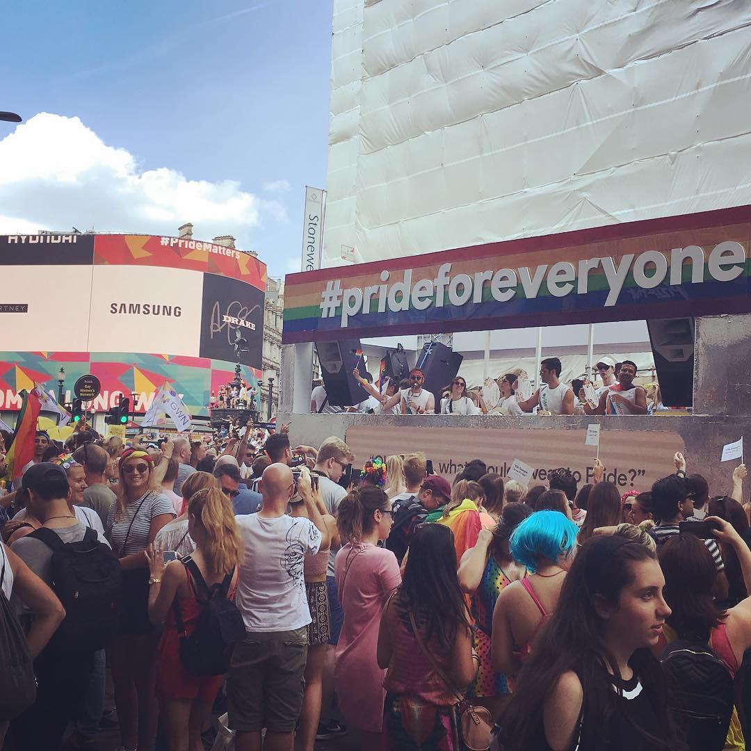 Pride Parade in London