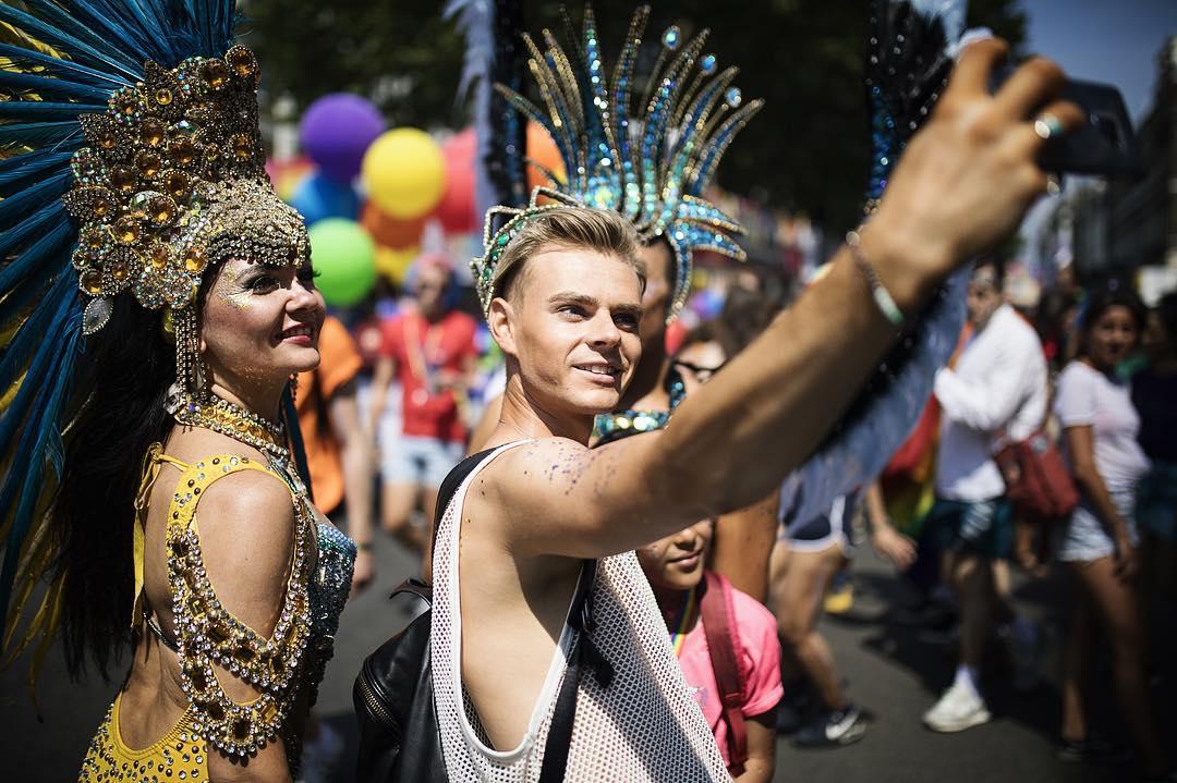 Pride Selfie x