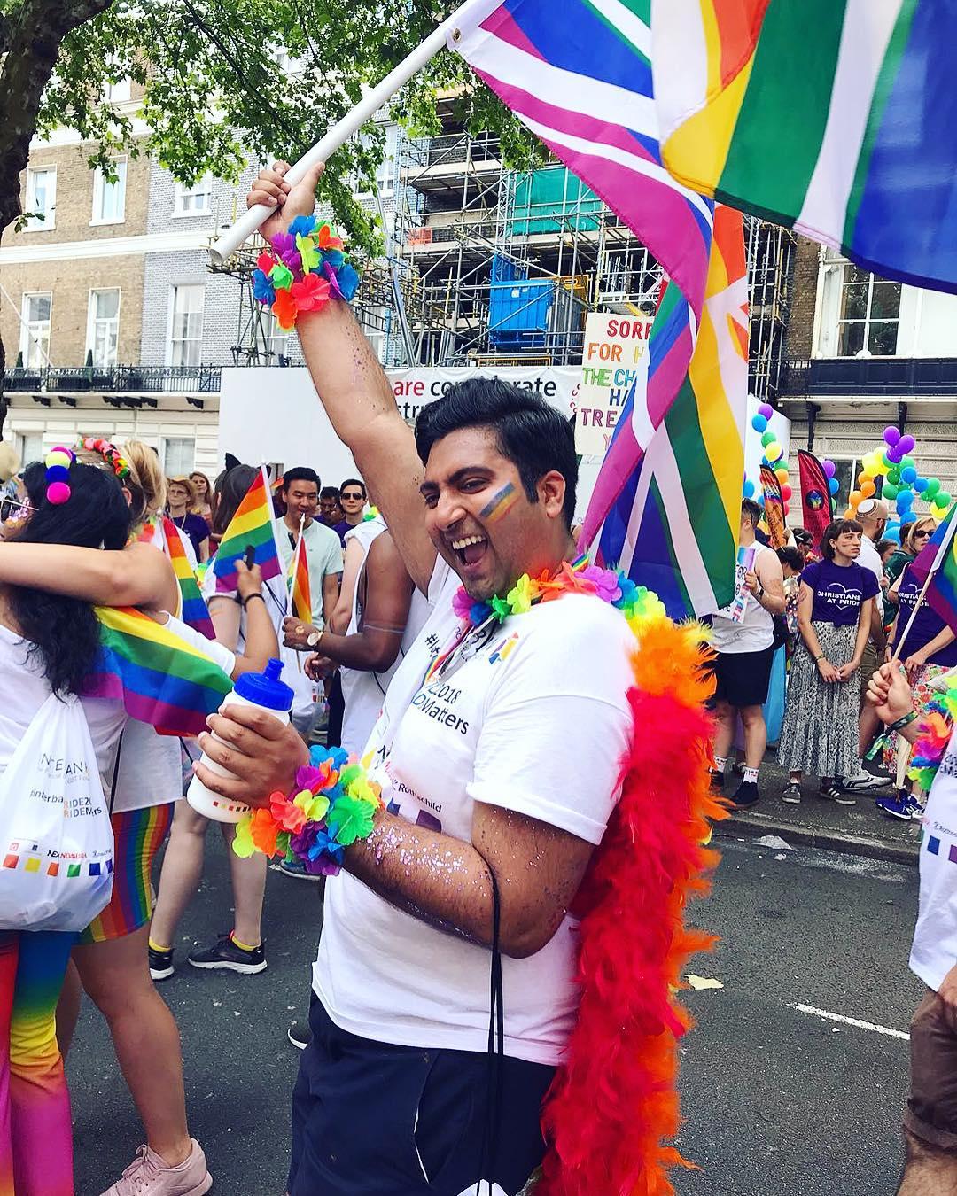 Pride london parade 2018 flag salmansamiali