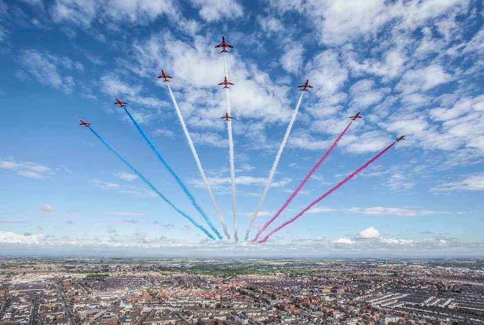 Map Over London.Raf 100 Flypast Over London Map Times Where To Watch And What To See